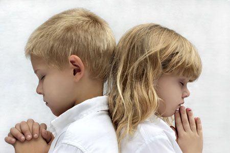 Cum invatam copiii sa se roage