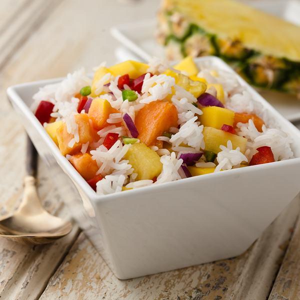 Salata cu papaya si orez