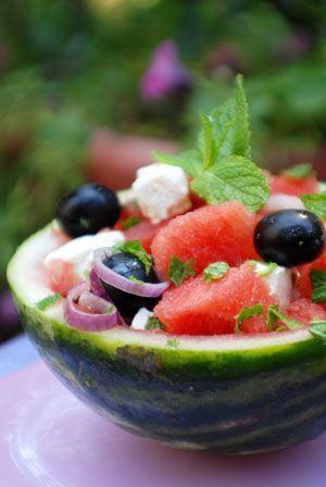 Salata cu pepene verde