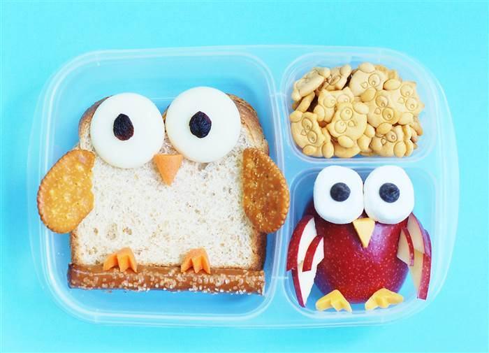 Alimentatie sanatoasa pentru copilul tau. 5 idei creative pentru pachetelul cu mancare