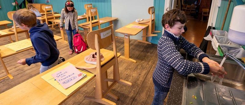 Redeschiderea scolilor nu a reaprins epidemia de coronavirus in Norvegia