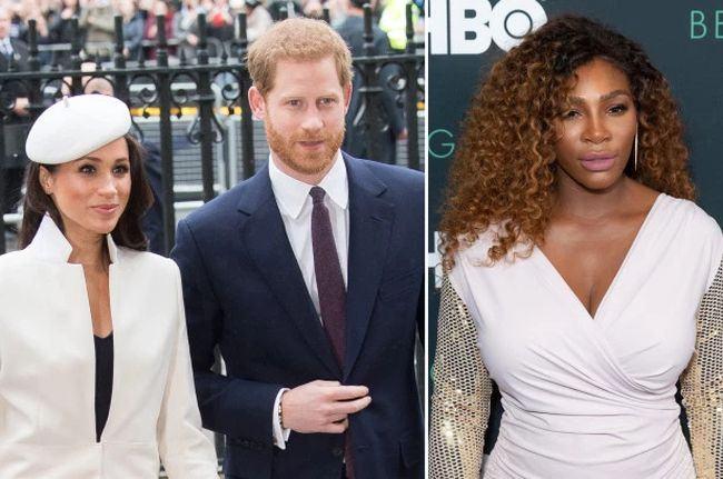 Serena Williams a dezvaluit din greseala sexul bebelusului lui Meghan Markle?