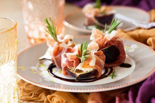 Smochine cu gorgonzola si prosciutto