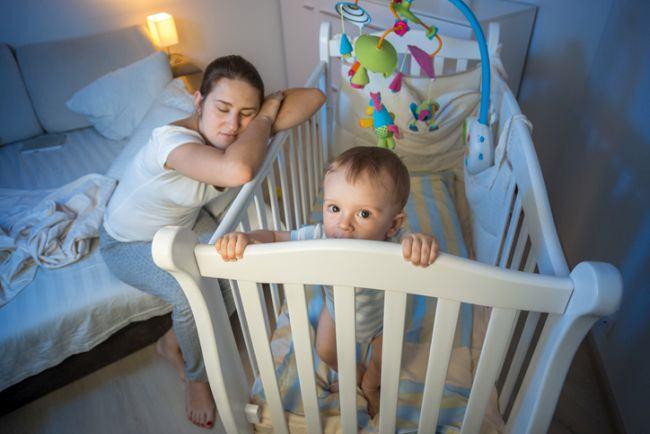 38% dintre bebelusii in varsta de 6 luni nu dorm sase ore pe noapte