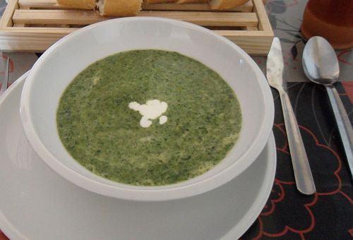 Supa crema de spanac