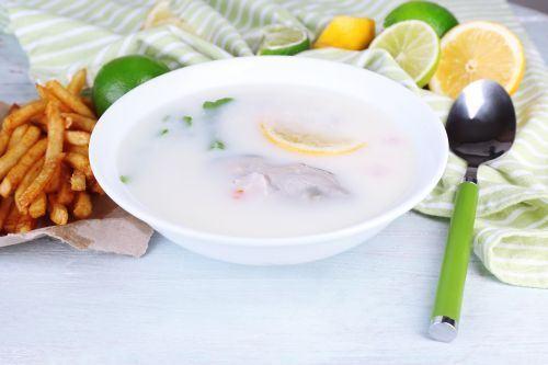 Supa de peste si midii