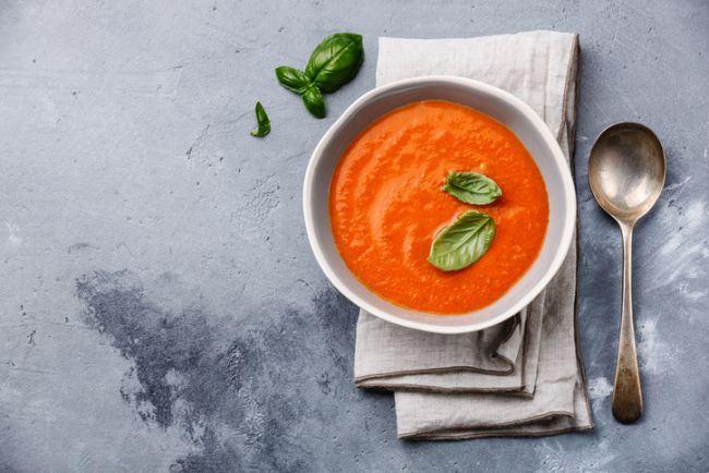 Supa de gris cu rosii