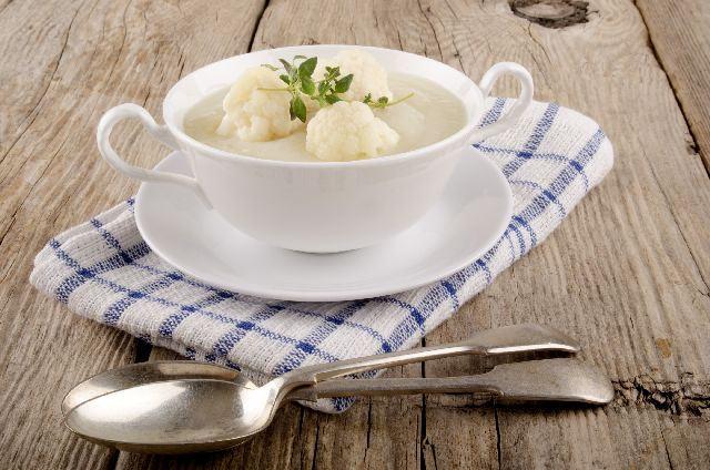 Supa crema de conopida cu cartofi