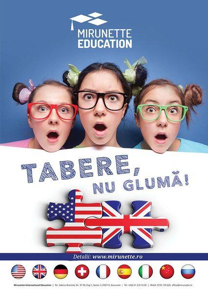 Alege o tabara internationala cu Mirunette International Education