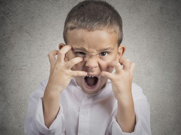 Tantrumul la copii: si copiii pot avea accese de furie