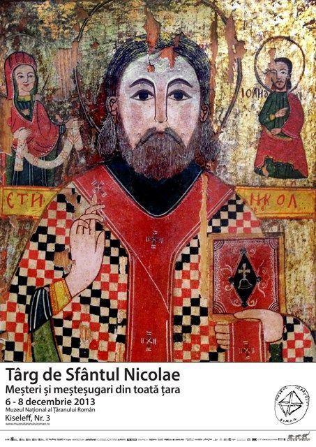 Targ de Sfantul Nicolae, 6 – 8 decembrie 2013, Muzeul National al Taranului Roman