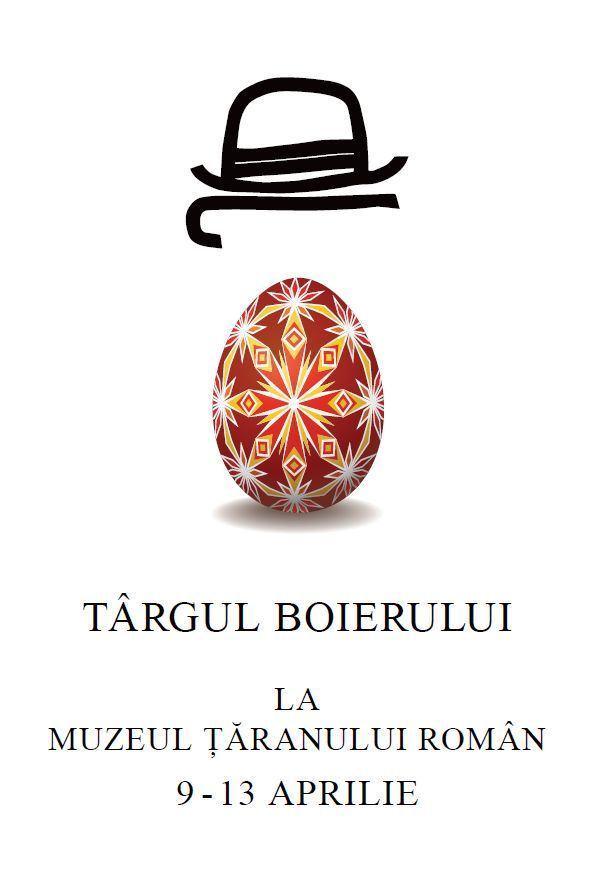 Targ de Pasti la Muzeul Taranului Roman ( 09 – 13 aprilie 2012 )