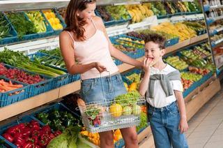 Cum arata o vizita la supermarket cand ai copii
