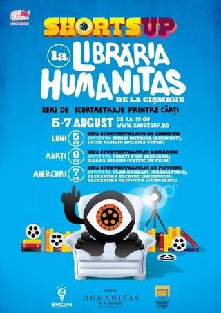 Serile ShortsUP la libraria Humanitas Cismigiu