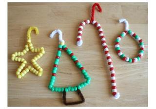 4  ornamente de brad pe care sa le faceti impreuna