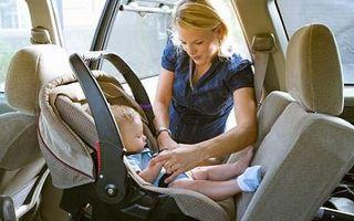 Secrete pentru siguranta bebelusului in scaunul de masina