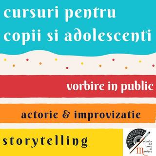 Cursuri de teatru si imbunatatirea comunicarii pentru copii si adolescenti