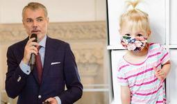 """Medicul Mihai Craiu: """"Chiar si un copil cu varsta mai mare de 2 ani poate purta masca, fara efecte adverse"""""""