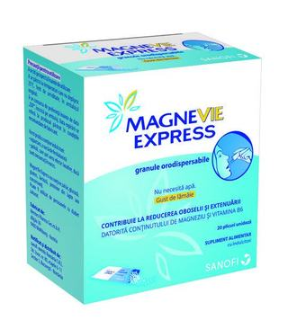 MagneVie Express®, magneziu si vitamina B6