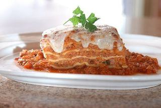 Lasagna de pui