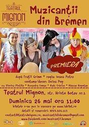 Muzicantii din Bremen, la Teatrul Mignon