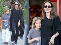 Fiica cea mica a Angelinei Jolie se transforma si ea in baiat?