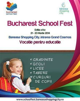 Bucharest School Fest - editia a II-a