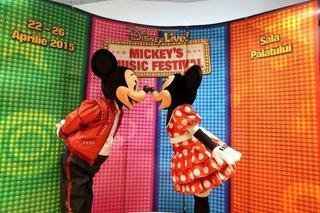 Ritmuri pline de energie la Bucuresti alaturi de Mickey Mouse si Minnie Mouse
