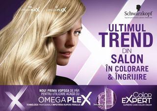Schwarzkopf aduce cel mai recent trend in colorarea si ingrijirea parului din salon la tine acasa, prin noua gama Color Expert cu OMEGAPLEX