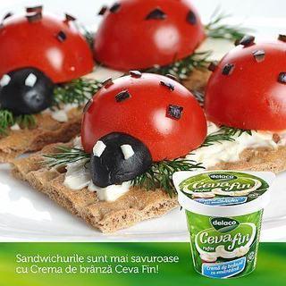 Idei pentru sandwich-ul perfect pentru cei mici