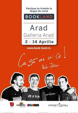 Caravana Cartii poposeste in Galleria Arad