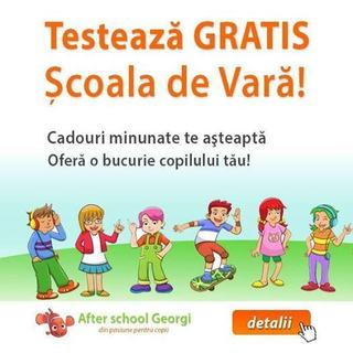 Scoala de Vara After School Georgi