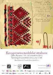 Expozitia Recuperarea modelelor strabune, Muzeul National al Taranului Roman