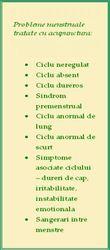 Acupunctura in tratamentul problemelor menstruale si al infertilitatii