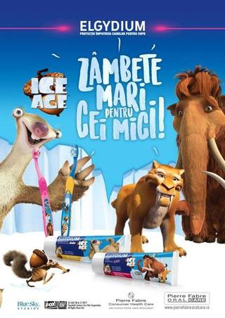 Micul explorator porneste in aventura ICE AGE!