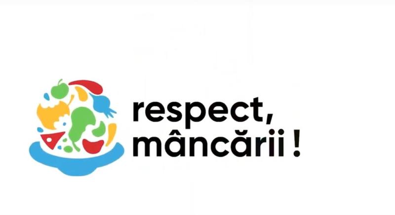 """Romanii au declarat """"Respect mancarii"""""""