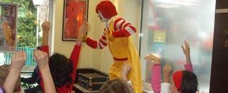 Roland Show la McDonald's, la Baneasa Shopping City, 16 septembrie