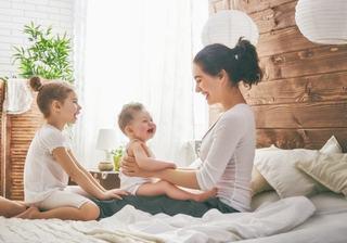 Cum scapa mama de stres de la primul, la al doilea copil