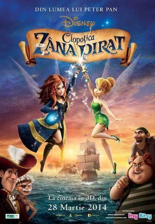 Zanele se lupta cu piratii in filmul Disney Clopotica si Zana Pirat!
