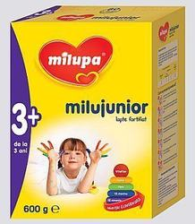 Milupa lanseaza Milujunior 3+, pentru copiii peste 3 ani