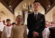 Copiii Victoriei si ai lui David Beckham au fost botezati. Cine au fost nasii celor doi