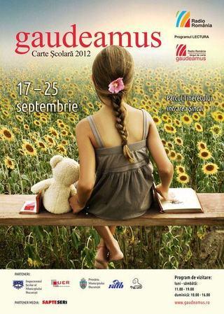 Targul Gaudeamus de Carte Scolara, 17 – 25 septembrie 2012, Bucuresti