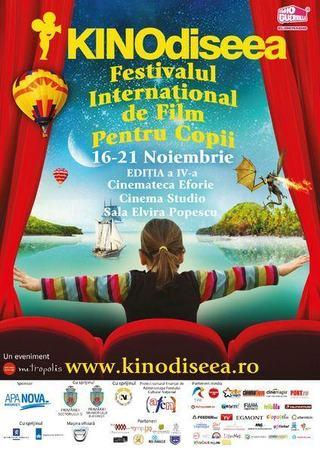 KINOdiseea, Festivalul International de Film pentru Copii, 16 si 21 noiembrie 2012