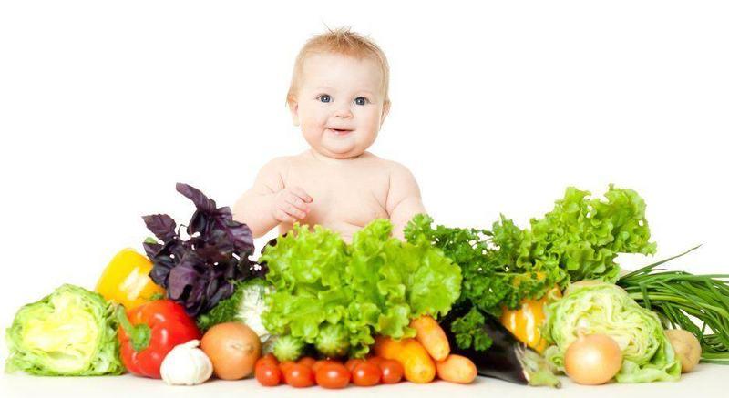 Diversificarea: legume si fructe in meniul bebelusului