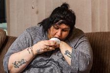 Mama dependenta de pulberea de talc.De 15 ani se trezeste de 4 ori pe noapte pentru a consuma pudra