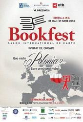 Targul de carte Bookfest, 28 mai - 1 iunie