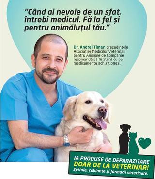 Cand ai nevoie de un sfat, intrebi medicul. Fa la fel si pentru animalutul tau.