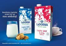 LaDORNA se relanseaza cu o noua identitate vizuala pentru toate gamele de produse lactate