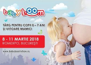 Primul eveniment pentru parinti si copii al anului Baby Boom Show intre 8-11 martie, la ROMEXPO
