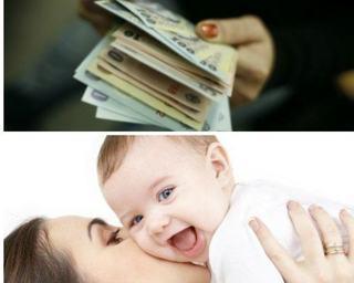Veste buna pentru mamici! A fost promulgata legea prin care primesc mai multi bani